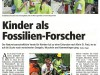 Kinder als Fossilienforscher